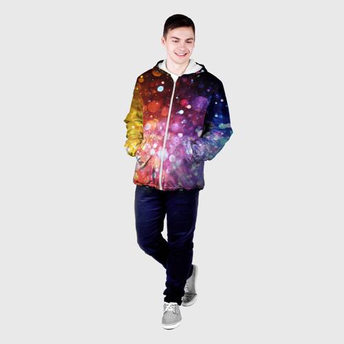 Мужская куртка 3D  Фото 03, Брызги