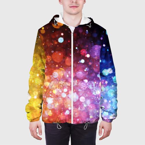 Мужская куртка 3D  Фото 04, Брызги