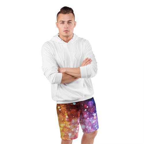 Мужские шорты 3D спортивные  Фото 05, Брызги