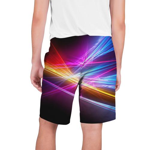 Мужские шорты 3D Лучи Фото 01