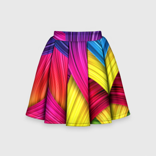 Детская юбка-солнце 3D  Фото 01, Абстракция