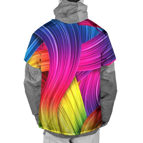 Накидка на куртку 3D  Фото 02, Абстракция