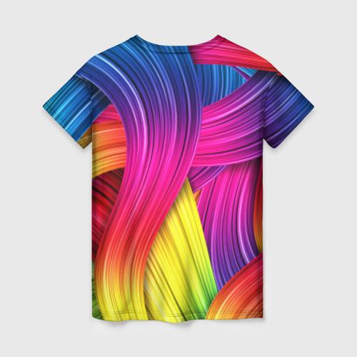 Женская футболка 3D Абстракция Фото 01