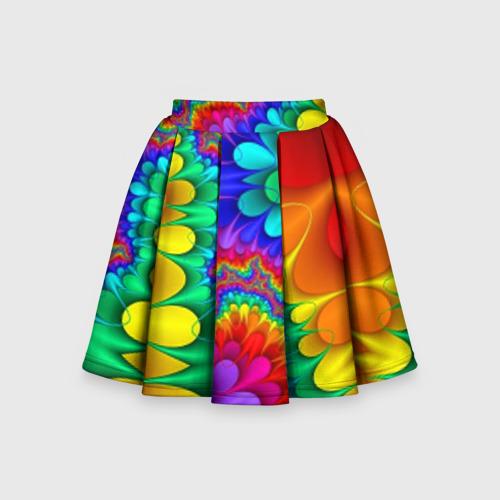 Детская юбка-солнце 3D Узор