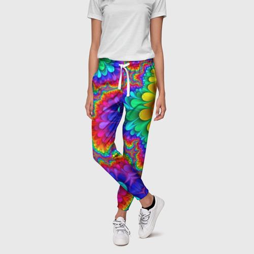 Женские брюки 3D Узор