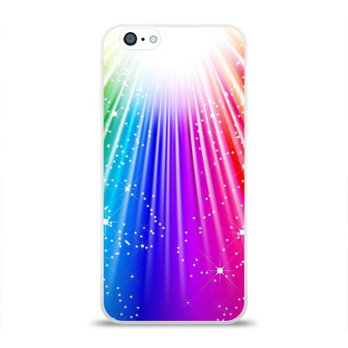 Чехол для Apple iPhone 6 силиконовый глянцевый Солнце
