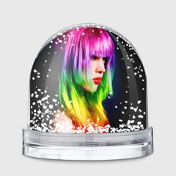 Девушка радуга