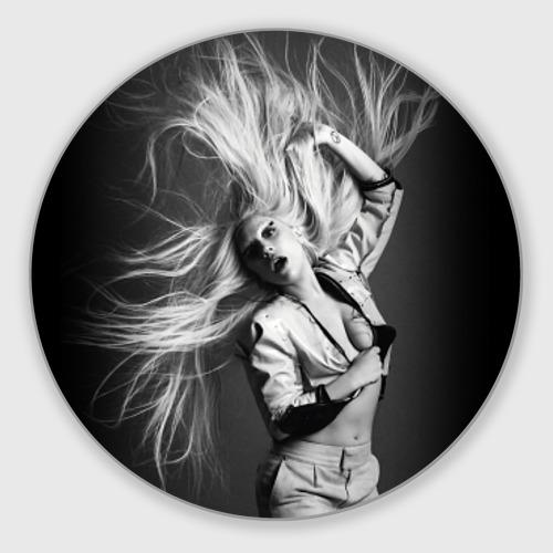 Коврик круглый  Фото 01, Lady Gaga