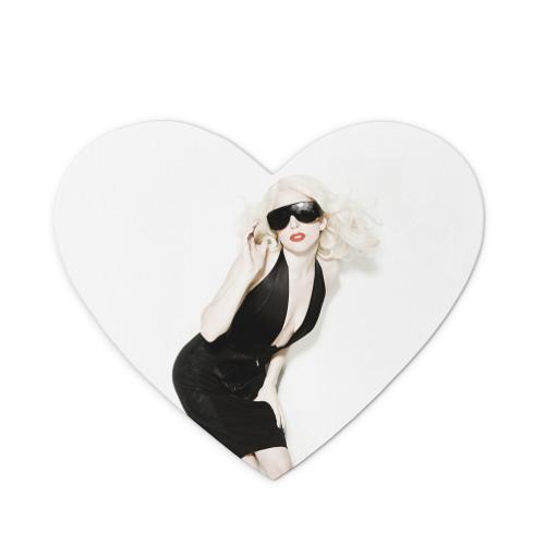 Коврик сердце  Фото 01, Lady Gaga