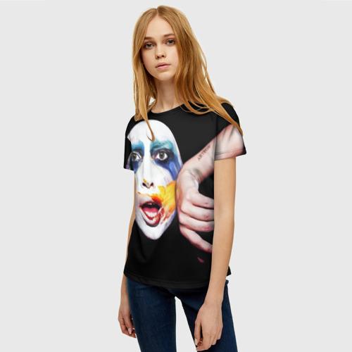 Женская футболка 3D Lady Gaga Фото 01