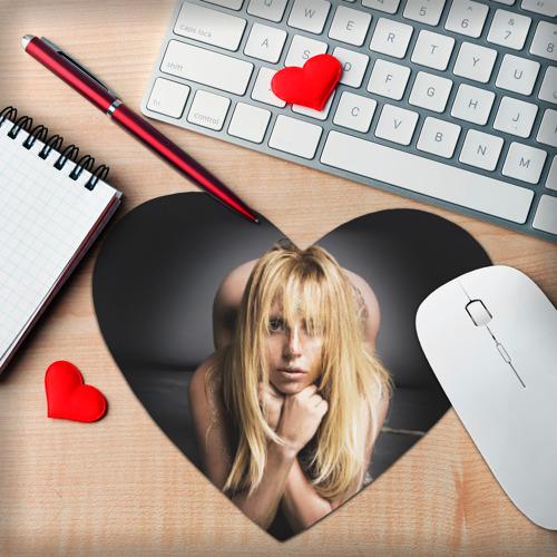 Коврик сердце  Фото 02, Lady Gaga