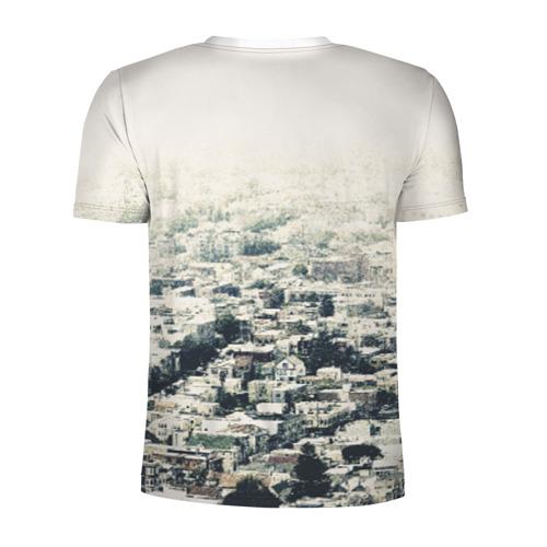Мужская футболка 3D спортивная  Фото 02, San Francisco