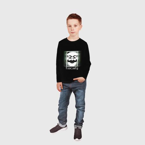Детский лонгслив 3D  Фото 05, Mr.Robot