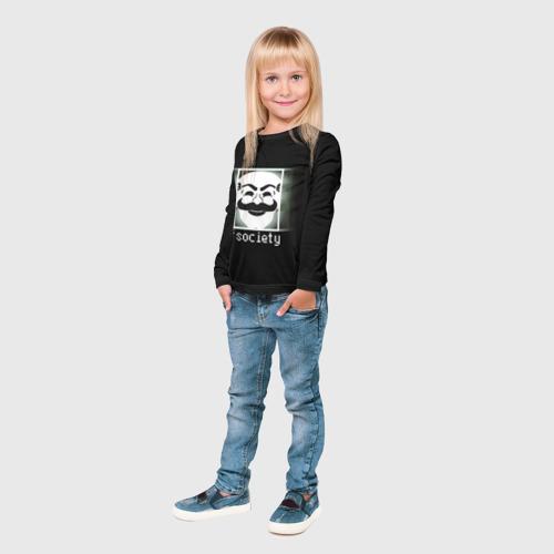 Детский лонгслив 3D  Фото 04, Mr.Robot