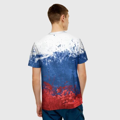 Мужская футболка 3D Хоккей 2
