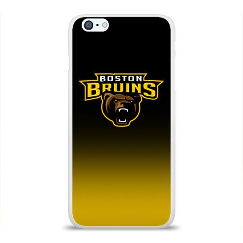 Чехол для Apple iPhone 6Plus/6SPlus силиконовый глянцевый Бостон Брюинз