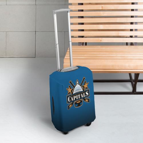 Чехол для чемодана 3D  Фото 03, Вашингтон Кэпиталз