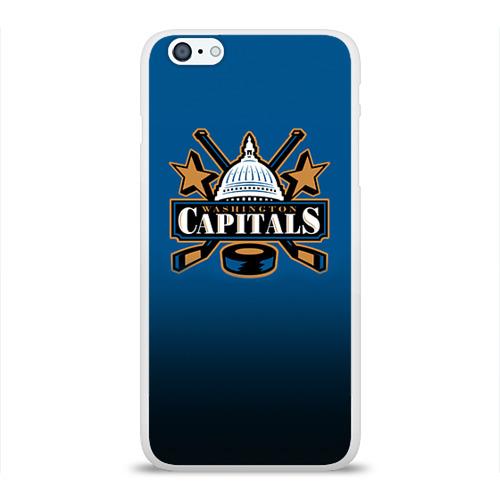 Чехол для Apple iPhone 6Plus/6SPlus силиконовый глянцевый  Фото 01, Вашингтон Кэпиталз