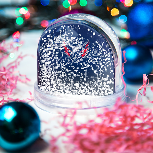 Водяной шар со снегом  Фото 04, Вашингтон Кэпиталз 1