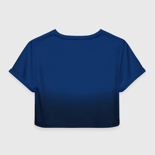 Женская футболка 3D укороченная  Фото 02, Вашингтон Кэпиталз 1