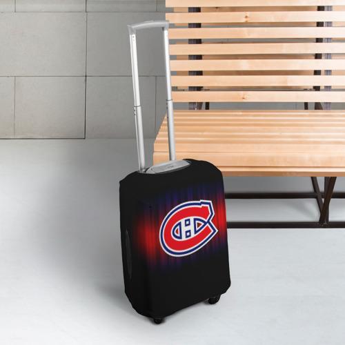 Чехол для чемодана 3D  Фото 03, Монреаль Канадиенс