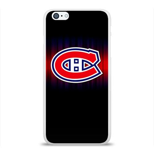 Чехол для Apple iPhone 6Plus/6SPlus силиконовый глянцевый  Фото 01, Монреаль Канадиенс