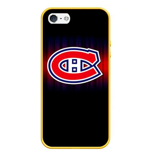 Чехол для iPhone 5/5S матовый Монреаль Канадиенс Фото 01