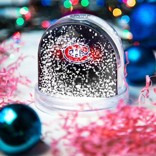 Водяной шар со снегом  Фото 04, Монреаль Канадиенс