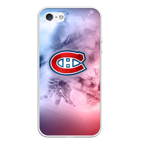 Чехол для iPhone 5/5S матовый Монреаль Канадиенс 1 Фото 01