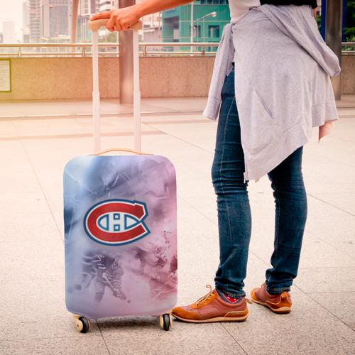 Чехол для чемодана 3D  Фото 04, Монреаль Канадиенс 1