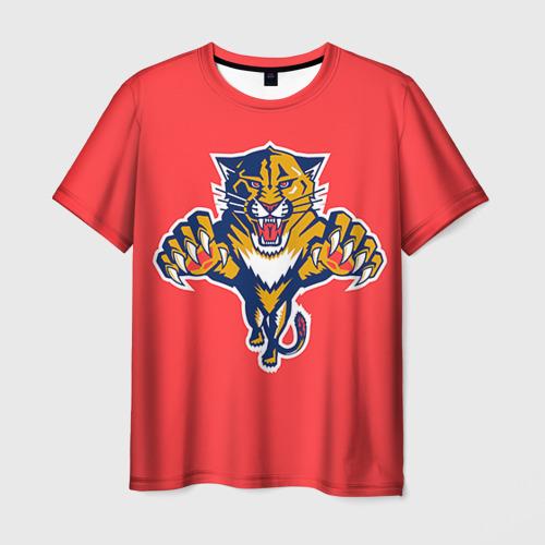Мужская футболка 3D Флорида Пантерз