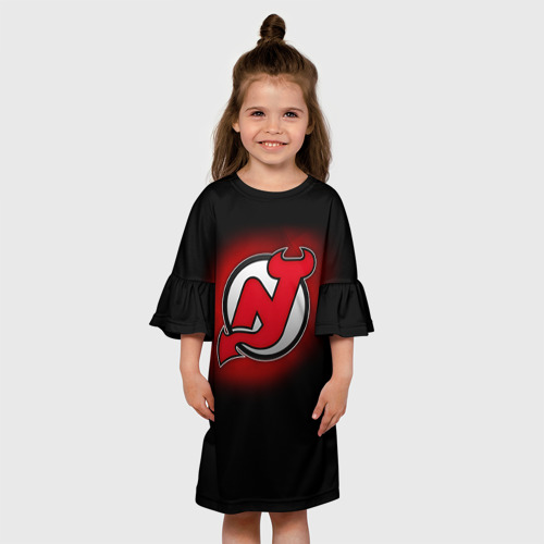 Детское платье 3D  Фото 01, Нью-Джерси Дэвилз