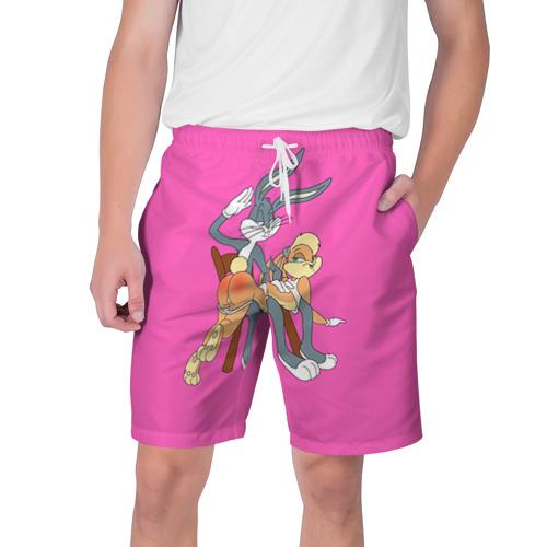 Мужские шорты 3D Зайки