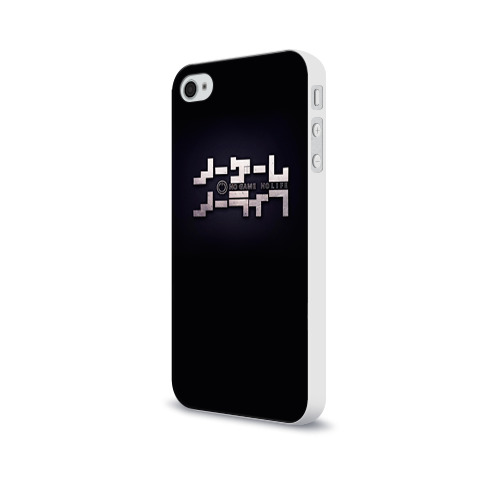 Чехол для Apple iPhone 4/4S soft-touch  Фото 03, No Game No Life лого
