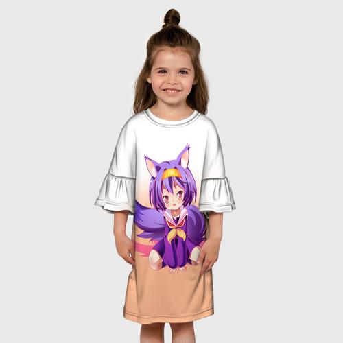 Детское платье 3D  Фото 01, No Game No Life
