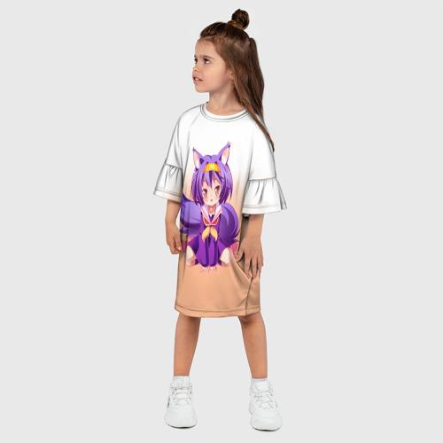 Детское платье 3D  Фото 03, No Game No Life