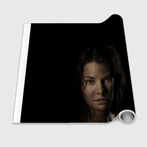 Бумага для упаковки 3D  Фото 02, ГРИН