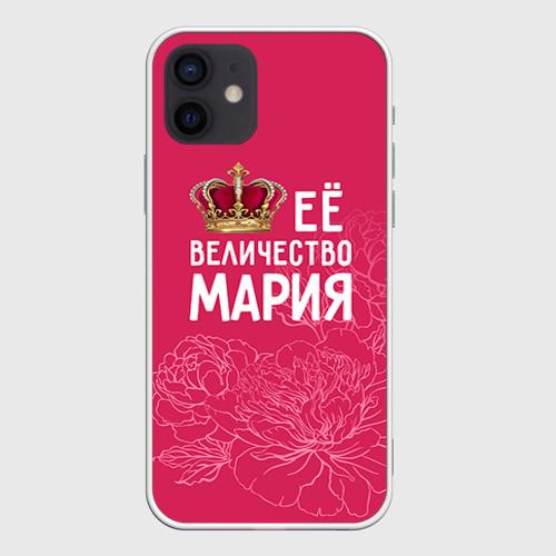 Чехол для iPhone 12 Pro Mini Её величество Мария Фото 01