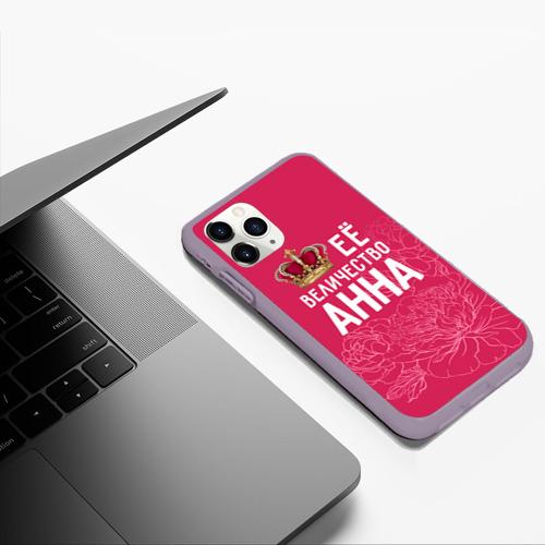 Чехол для iPhone 11 Pro Max матовый Её величество Анна Фото 01
