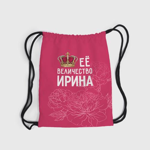 Рюкзак-мешок 3D  Фото 03, Её величество Ирина