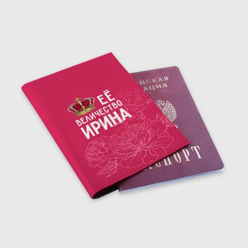 Обложка для паспорта матовая кожа  Фото 03, Её величество Ирина