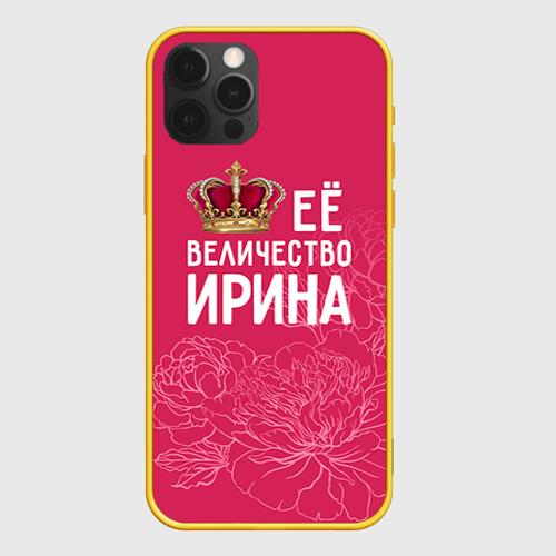 Чехол для iPhone 12 Pro Её величество Ирина Фото 01