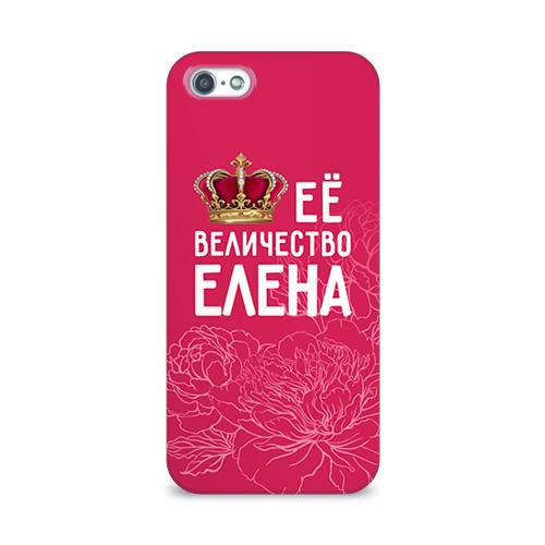 Чехол для Apple iPhone 5/5S 3D  Фото 01, Её величество Елена
