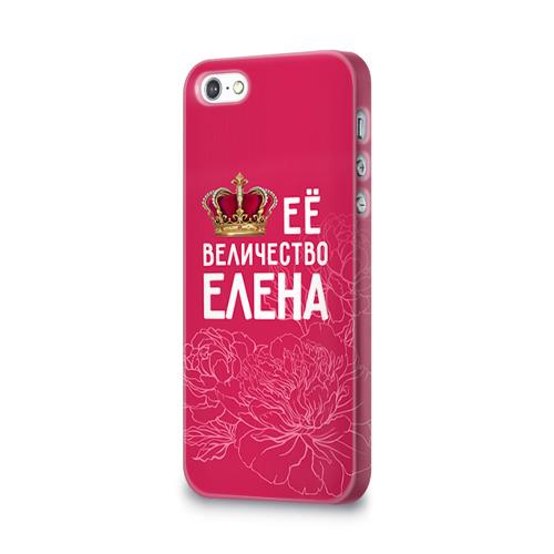 Чехол для Apple iPhone 5/5S 3D  Фото 03, Её величество Елена
