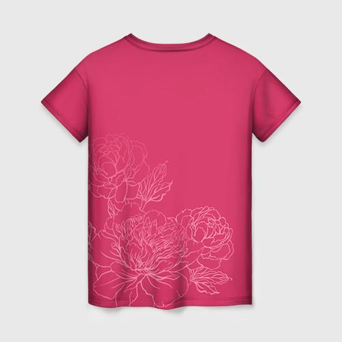 Женская футболка 3D Её величество Ольга Фото 01