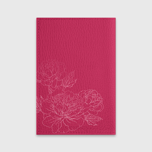 Обложка для паспорта матовая кожа  Фото 02, Её величество Ольга