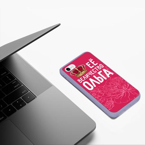 Чехол для iPhone 6/6S матовый Её величество Ольга Фото 01