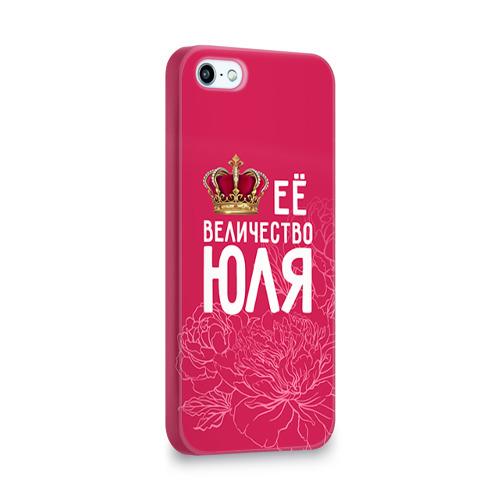 Чехол для Apple iPhone 5/5S 3D  Фото 02, Её величество Юля