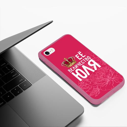 Чехол для iPhone 6Plus/6S Plus матовый Её величество Юля Фото 01
