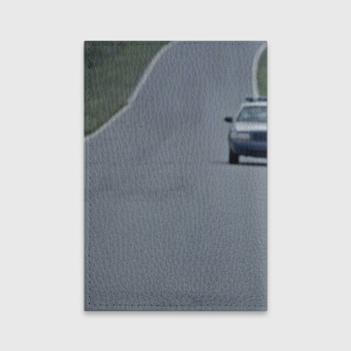 Обложка для паспорта матовая кожа  Фото 02, Рик Граймс